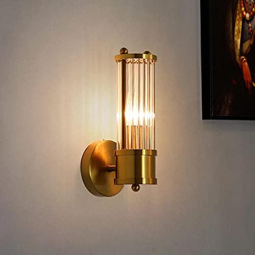 Lámpara de Pared Cristal Moderna, Lámpara Pared Fondo TV Minimalista Nórdica, Lámpara de Pared para Sala Estar, luz para el Hogar, Lámparas de Pared LED de Lujo para Interiores