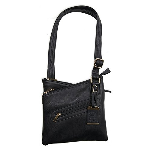 Bulldog Cases Small Crossbody Concealed Carry Purse