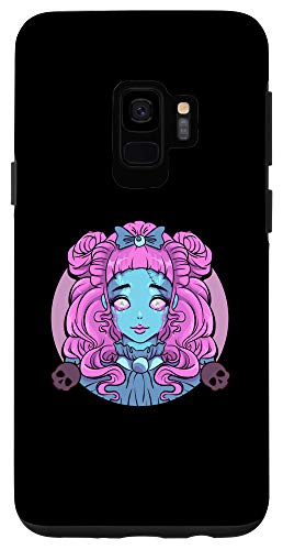 Galaxy S9 Pastel Goth Porcelain Doll Crying Tears Case -  Pastel Goth Porcelain Doll Crying Tears Designs