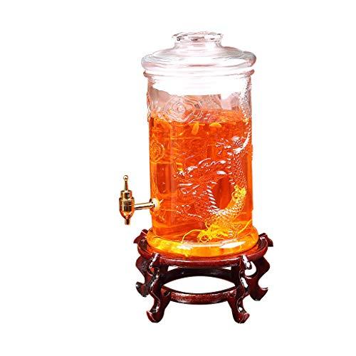 Dranken dispenser Sake Wijnglas Fles Wijnfles Speciale Wijnfles Wijnpot Glas Met Kraan Huishoudelijke Verzegelde Soaking Cans XINYALAMP
