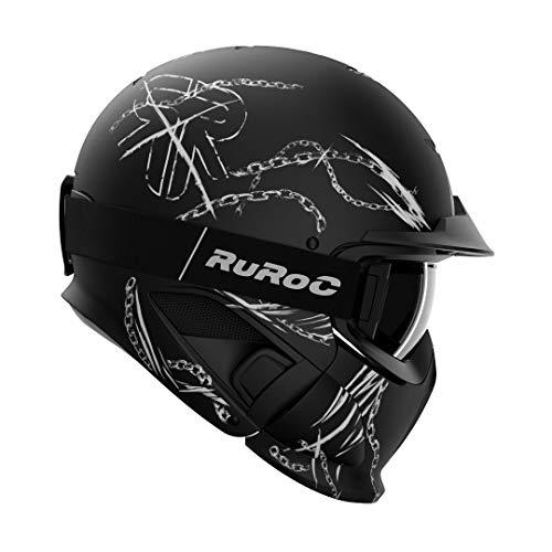 Ruroc RG1-DX Ski Snowboard Helm (M/L (57-60cm), Chain Breaker LTD)