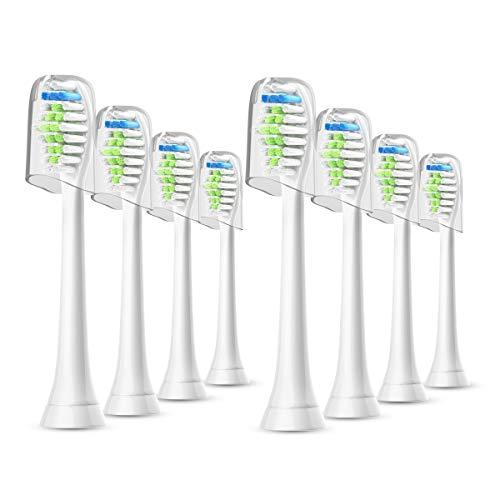 WuYan 互換 フィリップス ソニッケアー 電動歯ブラシ 替えブラシ 対応 ダイヤモンドクリーン 8個 コスパ良いですよ
