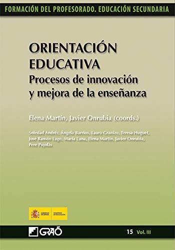 Orientación Educativa. Procesos de innovación y mejora de