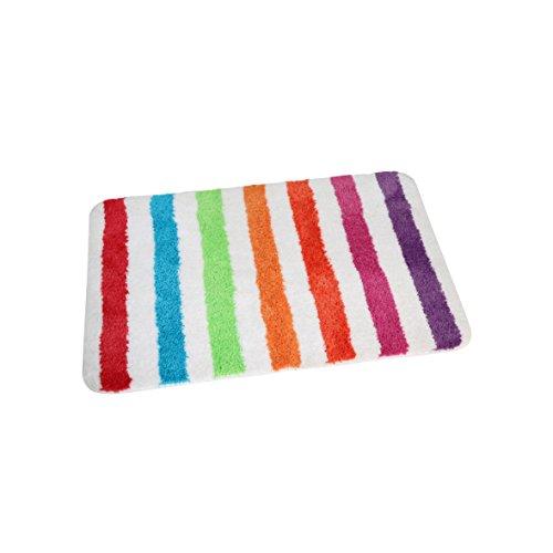 Badteppich, gestreift Teppich Badmatte Duschmatte Badezimmerteppich
