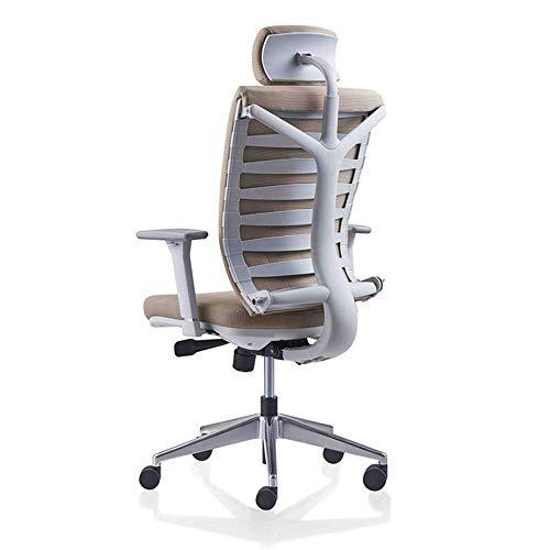 MHIBAX Gaming ChairScrivania e sedia da ufficio in rete con schienale alto, sedia da ufficio ergonomica, sedia da lavoro per computer con poggiatesta/supporto per il collo regolabili, adatta