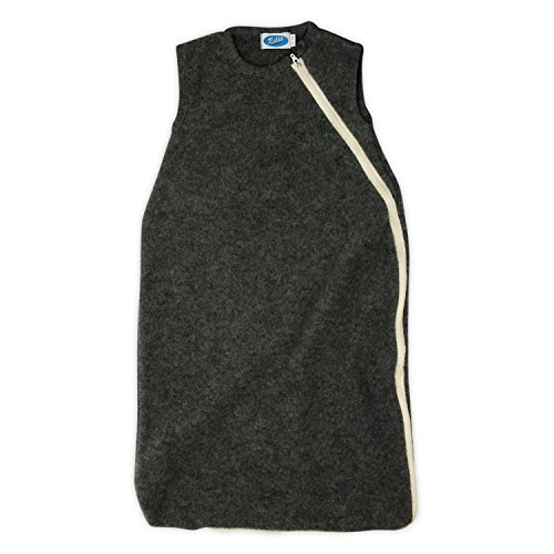 Reiff - Fleeceschlafsack ohne Arm 62/68 in fels - erstellt von Wollbody®