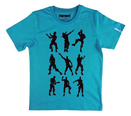 Camiseta Azul compatible con Fortnite Bailes (Azul, 16 años)