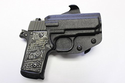 Multi Holsters Elite OWB Paddle Right-Hand Holster (Compatible w/S&W M&P Shield 9/40, Black Calcutta)