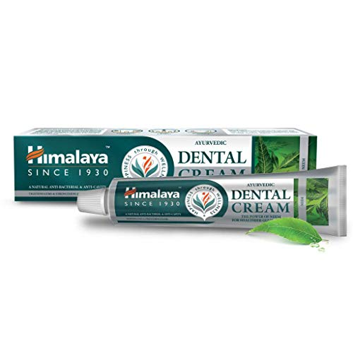 Himalaya Ayurvedic Dental cream with Neem extract, no fluoride, 100g