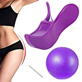 Hip Trainer Kegel Exerciser Pelvic Floor Muscle and Inner Thigh Exerciser Lifting Correction Bladder Control Device Beautify Buttocks for Women Postpartum Rehabilitation Body Shape