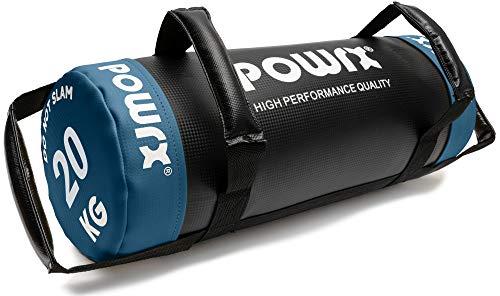 POWRX Sandbag 20 kg - Perfecta para mejorar equilibrio,...