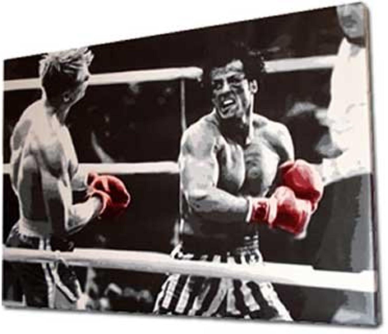 Rocky Balboa Pop Art Film Leinwand