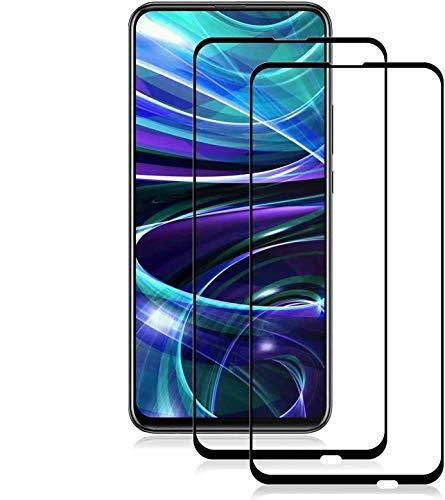 MINZHOU P Smart Z Panzerglas (2er Pack),[Ultra klar] [Hochempfindlich] [Kratzfest] [No-Bubble] Gehärtetes Glas Panzerglas für Huawei P Smart Z