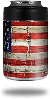 WraptorSkinz Patriotic Skin Wrap for Yeti Rambler Colster and RTIC Can (Cooler NOT Included) by