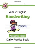 New KS1 Handwriting Daily Practice Book: Year 2 - Autumn Term