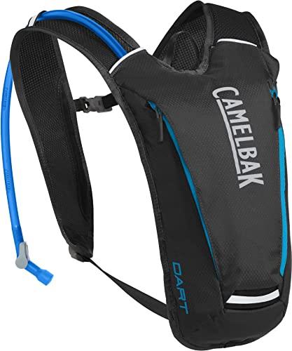 CamelBak Octane Dart Crux Reservoir Hydration Pack, Black/Atomic Blue, 1.5 L/50 oz