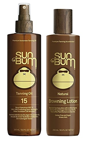 Sun Bum Tanning Lotion and Oil