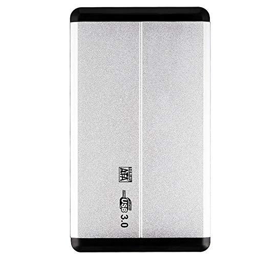 WANGOFUN Ultra Delgado Disco Duro Externo portátil USB 3.0 HDD compatibles de Almacenamiento para PC, de Escritorio, portátil, Xbox One, Xbox 360, PS4, 500GB / 1TB / 2TB,2TB