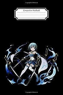 Composition Notebook:Magia Record-Puella Magi Madoka Kaname Magica-Kyoko Sakura #4 Anime Manga Journal/Notebook Blank Lined Ruled 6x9 120 Pages