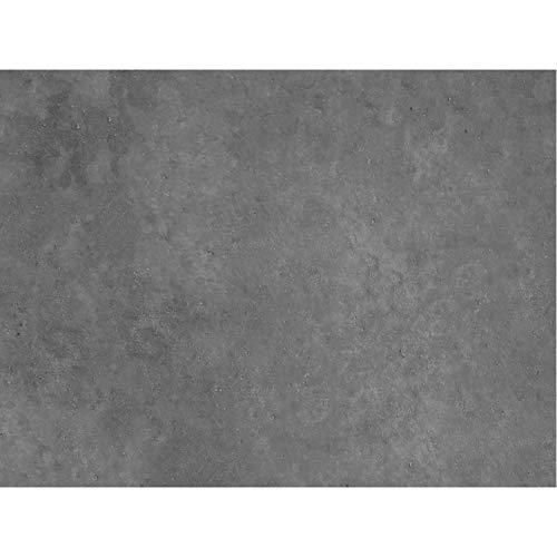 PrintYourHome Fliesenaufkleber für Küche und Bad | Dekor Beton Dunkelgrau | Fliesenfolie für 15x20cm Fliesen | 102 Stück | Klebefliesen günstig in 1A Qualität