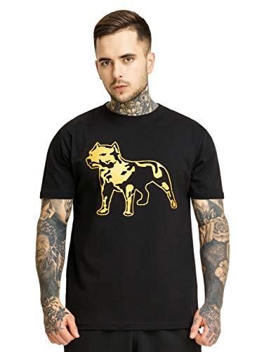 Amstaff Herren T-Shirts Logo 2.0 schwarz 2XL
