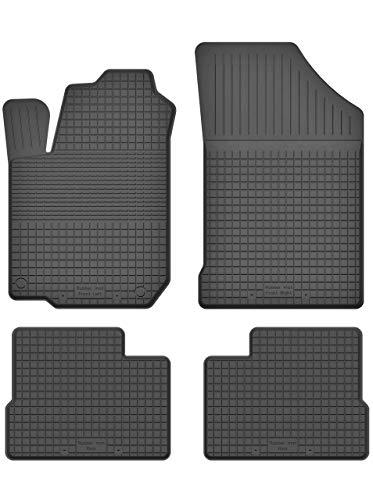 KO-RUBBERMAT Gummimatten Fußmatten 1.5 cm Rand geeignet zur Hyundai i10 II (Bj.2013-2018) ideal angepasst 4 -Teile EIN Set