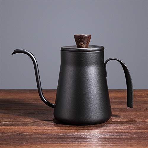 Cafetière 400ml goutte à goutte à goutte à goutte à goutte de thé non-bâton de qualité alimentaire en acier inoxydable col goutte goutte à col goutte goutte à col goutte à col goutte à col goutte à co
