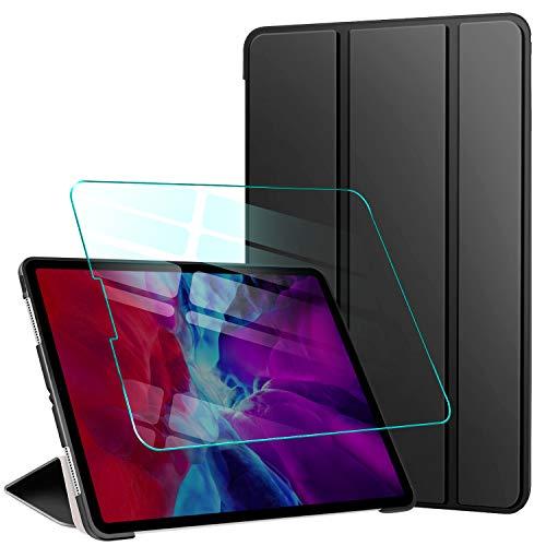 """AROYI Custodia Cover per iPad PRO 11 Pollici 2020/2021 + Vetro Temperato, Ultra Sottile Magnetica Case con Auto Svegliati/Sonno per iPad PRO 11"""", Nero"""