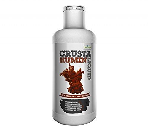 NatureHolic - Crusta Humin Liquid - Wasseraufbereiter - Wertvolle Huminstoffe für Dein Garnelen Aquarium - 125 ml