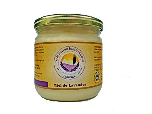Les Ruchers des bastides d'Estelle - Lavendelhonig (Miel de Lavande) 500 g