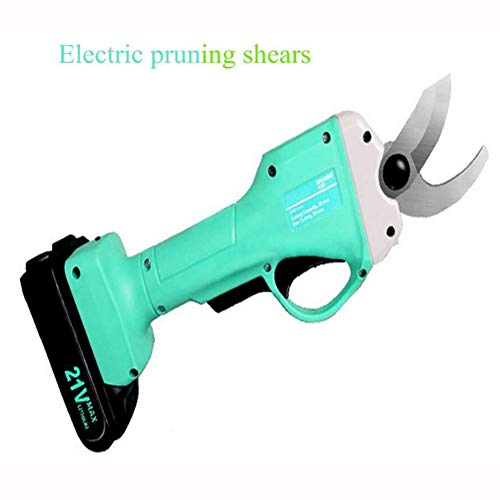 Purchase HKDJ-Cordless Electric Pruning Shears Less,Professional Lithium Battery Powered Tree Branch...