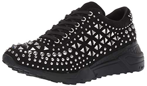 Steve Madden Men's Corona Sneaker, Black Multi, 9 M US