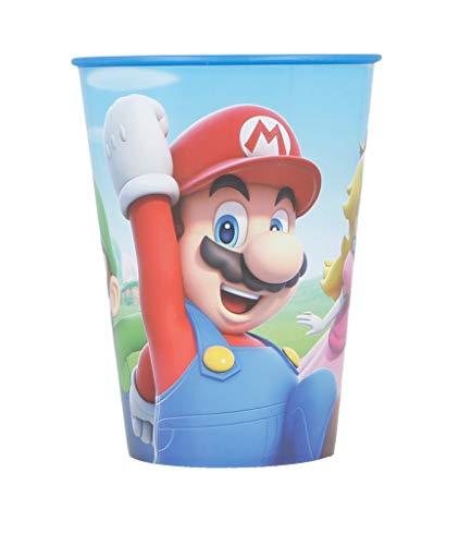 Bicchiere Per Bambini - Senza BPA - 260 ml |Super Mario
