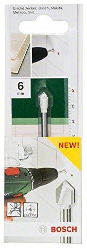 Bosch 2609255580- Punta da trapano per ceramica, diametro 6 mm