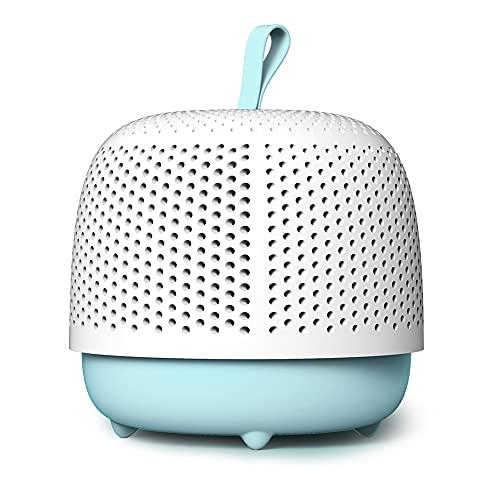 LUOWAN MINI Dehumidifier Portable Small Dehumidifier for Wardrobe,Dressing table,Cloakroom,Shoebox,Car,Bedroom,Bathroom(Blue)
