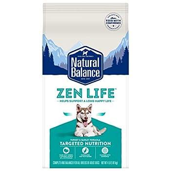 Natural Balance Zen Life Dry Dog Food Turkey & Barley Formula 4 Pounds