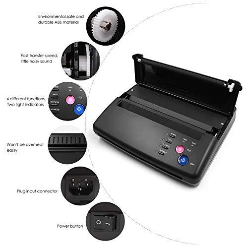 BIOMASER Tattoo Transfer Machine Tattoo Printer Drawing Thermal Stencil Maker Copier For Tattoo Transfer Paper Supply