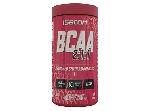 iSatori BCAA 2:1:1 - Integratore Alimentare di Aminoacidi a Catena Ramificata (L-Isoleucina,...