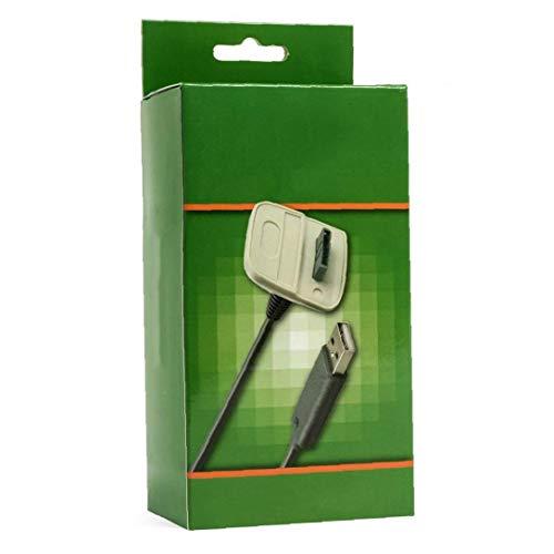 Gracy Mando inalámbrico de Carga USB Cable Cargador para Microsoft Xbox 360...