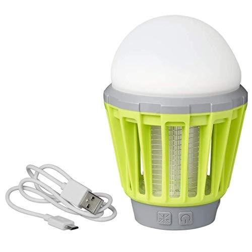 ProPlus Lampe de Camping et Anti-Insecte Rechargeable Lanterne Eclairage