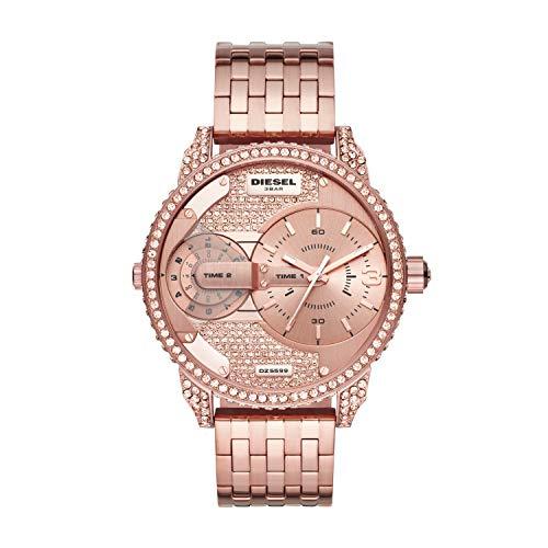 Diesel Reloj Analogico para Mujer de Cuarzo con Correa en Acero Inoxidable DZ5597