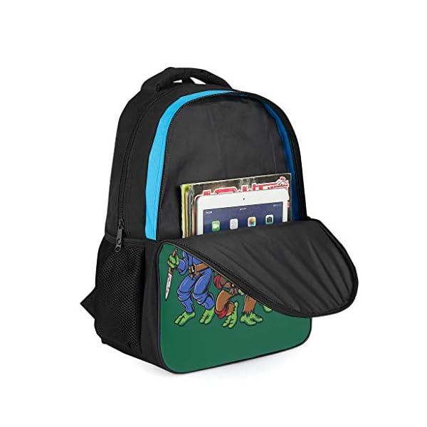 41VnFMzPLhL. SS600  - Mochila con Cuatro Tortugas Informales para niños – Ninja Tortuga Parte Trasera a la Escuela 2019 Mochila Daypack para…
