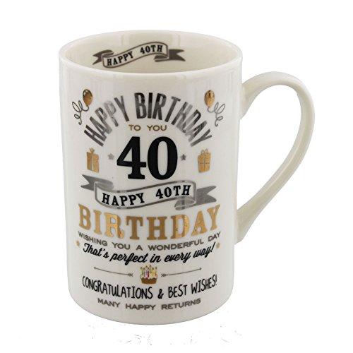 Mug d'anniversaire 40 ans (CM24540)