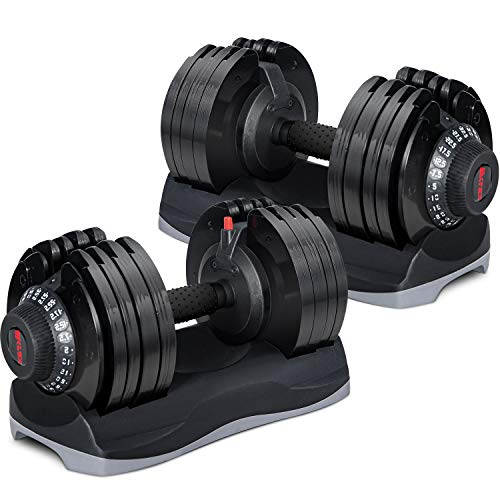 Merax Deluxe Adjustable Dial Dumbbell Review 2