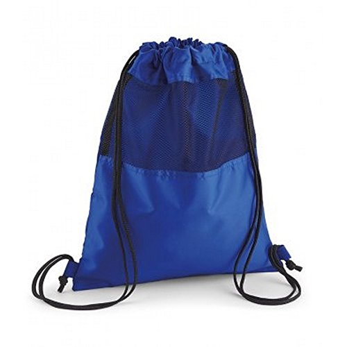 Quadra - Mochila de cordones de malla mdoelo Gymsac (Talla Única/Azul eléctrico)