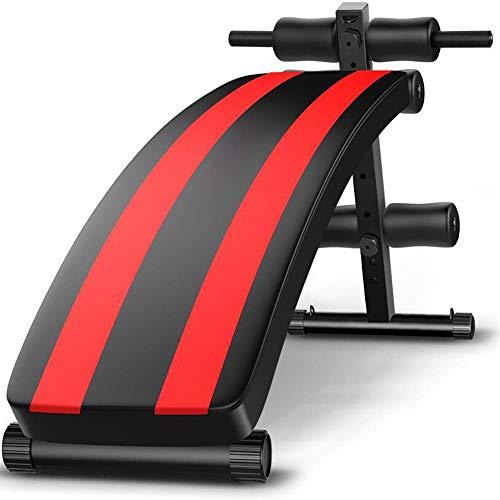 YAJIAN Tablero supino multifunción, equipos de fitness de abdominales, Banco de entrenamiento...
