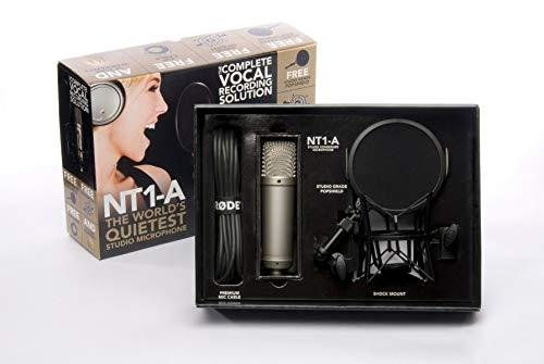 Rode NT1A (Großmembran-Kondensatormikrofon, Nierenkapsel, Audio Interface benötigt) - 5