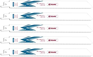 EZARC Reciprocating Saw Blade Metal Cutting 9-Inch 14TPI R922PM (5-Pack)