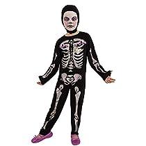 Rubies- Haunted House, Esqueleto Disfraz Esquelita Purpurinita (M)