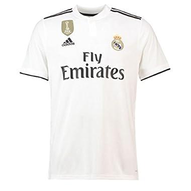 adidas 2018-2019 Real Madrid Home Football Shirt
